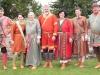 Gruppenbild in der Darstellung des Thüringer Königreiches